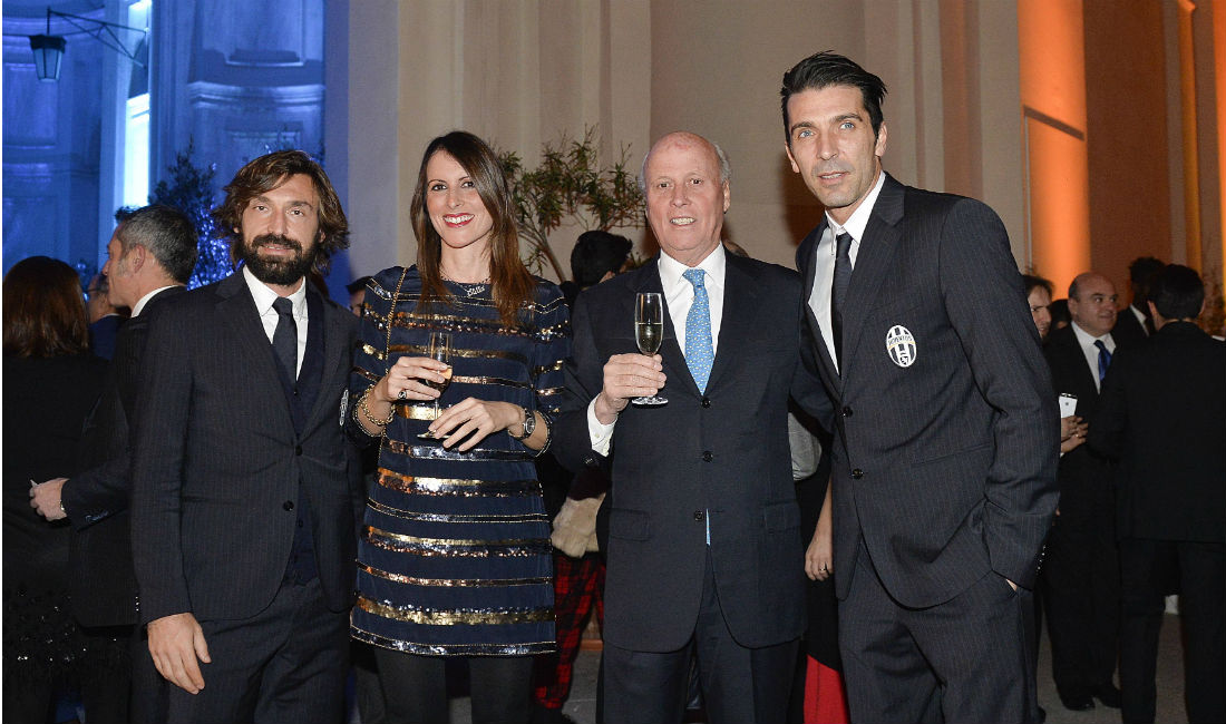 Pirlo-Stellae e Giancarlo Aneri-Buffon