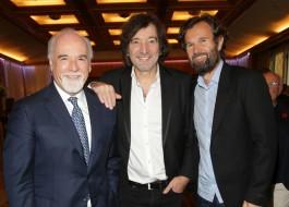 Antonio Ricci, Claudio Cecchetto e Carlo Cracco