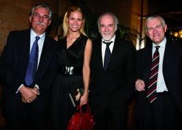 Gian Antonio Stella, Michelle Hunziker, Antonio Ricci, Maurizio Belpietro