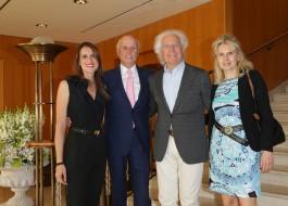 Stella Aneri, Giancarlo Aneri, Luciano Benetton, Laura Pollini