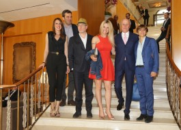 Stella Aneri, Mario Calabresi, Massimo Gramellini, Michelle Hunziker, Giancarlo Aneri, Giulia Buongiorno