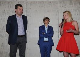 Mario Calabresi, Giulia Buongiorno, Michelle Hunziker