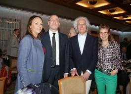 Chiara Beria Di Argentine, Massimo Gramellini, Luciano Benetton e Laura Pollini