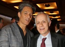 Fiorello e Luciano Fontana
