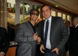 Fiorello e Mario Calabresi
