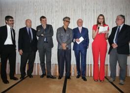 Gianni Riotta, Paolo Mieli, Mario Calabresi, Rosario Fiorello, Giancarlo Aneri, Stella Aneri, Gian Antonio Stella