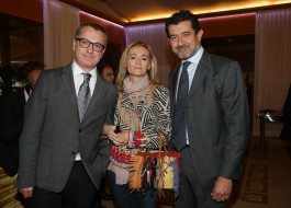 Luca Dini, Monica Mosca e Gianni Onorato