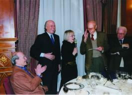 Giorgio Bocca, Giancarlo Aneri, Natalia Aspesi, Indro Montanelli, Enzo Biagi