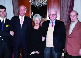 Gianni Riotta, Giancarlo Aneri, Barbara Spinelli, Enzo Biagi, Giorgio Bocca