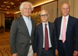 Luciano Benetton, Luciano Fontana, Giancarlo Aneri