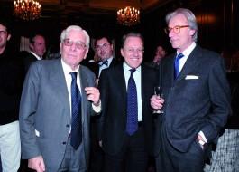 Mario Cervi, Marcello Sorgi, Vittorio Feltri