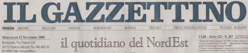 il gazzettino 12nov2008