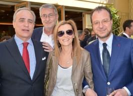 Andrea Monti, Umberto Brindani, Monica Mosca, Giorgio Mulè