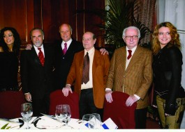 Giorgia Palmas, Antonio Ricci, Giancarlo Aneri, Giorgio Bocca, Enzo Biagi, Elena Barolo